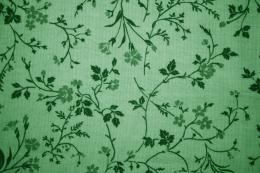 Green Floral Print Fabric Texture Picture | Free Photograph | Photos 760