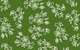 Green Floral Lace 1680