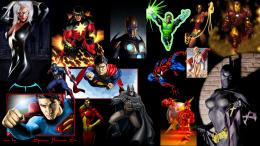super, heroes, gallery, collection, widescreen, background wallpaper 1646