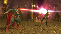 supermen vs scopionMortal Kombat vsDC Universe Wallpaper3148713 1568