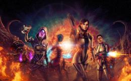 Mass Effect 3 Video Game Characters Sfondi desktop | WallpaperPixel 672