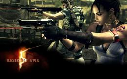 Resident Evil 5 Game Characters Action Sfondi desktop | WallpaperPixel 1092