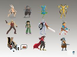 Pixel character by Toorobu on DeviantArt 1888
