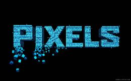 Pixels 2015 Movie Logo HD WallpaperiHD Wallpapers 734