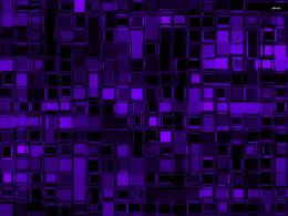 Purple glass cubes wallpaperAbstract wallpapers#1229 1675