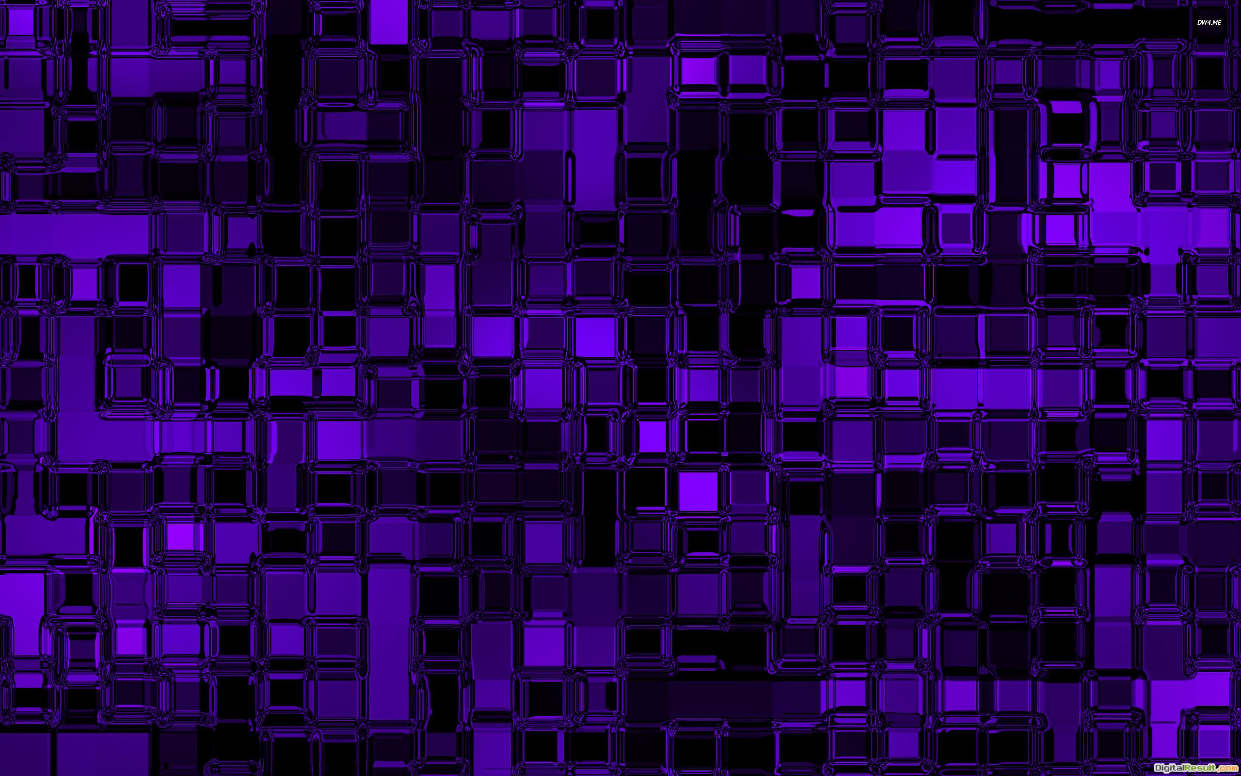 Purple glass cubes wallpaperAbstract wallpapers#1229 101