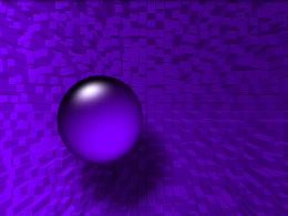 Purple sphere and cubes marble abstract 3d HD Wallpaper 1695
