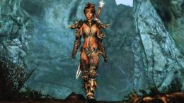 Download The Elder Scrolls V Skyrim Girl Warrior HD WallpaperSearch 287