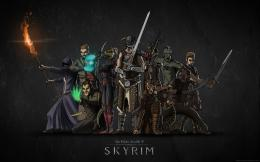 The Elder Scrolls V Skyrim Game Wallpaper 806