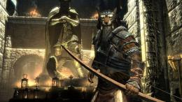 Download The Elder Scrolls V Skyrim Game Lion Face Man Wallpaper 224