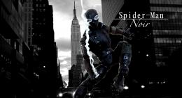 Spider Man Noir Wallpaper Spider man noir custom action 1704