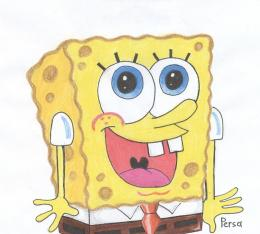 Spongebob with big smile :D by SpongePersa on DeviantArt 1699