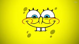 SpongeBob SquarePants smiling wallpaper 1141