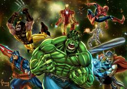 Marvel Super Heroes by Matelandia on DeviantArt 261
