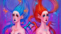 twin mermaids wallpaper 1280x720 5316e8db418e4 jpg 630