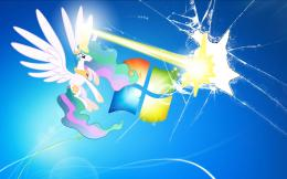 Princess Celestia wallpaperblasts the screen by nestordc on 1679