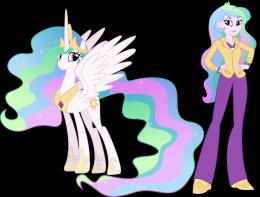 Princess Celestia and Principal Celestia by Vector Brony on DeviantArt 598