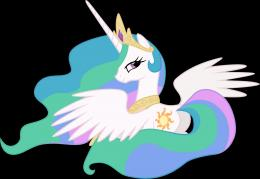 Princess Celestia SittingVector by RegolithX on DeviantArt 949