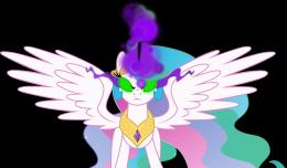 Princess Celestiablack magicVector by Kramze on DeviantArt 251