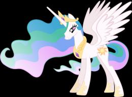 Princess Celestia Vector by Lextsy on DeviantArt 736