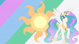 princess celestia wallpaper by ponyphile fan art wallpaper movies tv 969