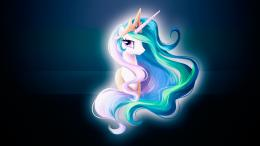 Princess Celestia Portrait Wallpaper by alanfernandoflores01 on 1232