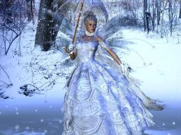 Snow Beauty Fairy Background Wallpapers | Fairy Background Wallpapers 373