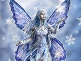Winter Fairy wallpapercynthia selahbluecynti19Wallpaper 821