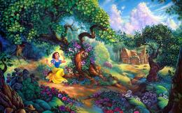 Disney Snow White Fairy Tale Wallpaper HD Download 1806