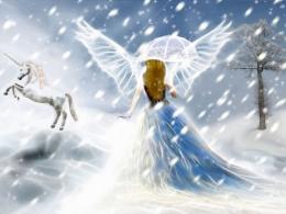 White Snow Fairy Background Wallpapers | Fairy Background Wallpapers 929