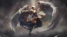 fantasy angel warrior wallpaper | 2000x1097 | 136130 | WallpaperUP 501