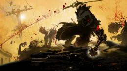 Ninja Gaiden Z videogames anime warrior dark zombies blood wallpaper 1139