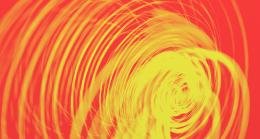 Light Painting Circle orange neon wallpaper background 1671