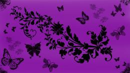 Butterfly Purple Art Wallpaper #11017 Wallpaper | Cool Walldiskpaper 420