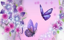 Purple Butterfly Backgrounds, wallpaper, Purple Butterfly Backgrounds 197