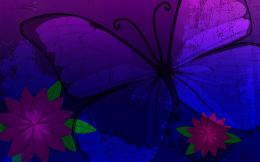Purple Butterfly Wallpaper 848