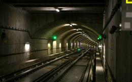 Wallpaper 1920x1200 Subway, Underground, Tunnel, Railroad, Tracks 1741