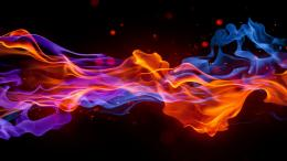 Red fire flames wallpaper 1592