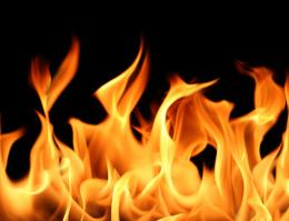 HomePhenomenaFireRed Flames Background 742