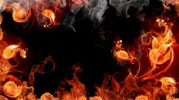 HomePhenomenaFireRed Fire Background 1709