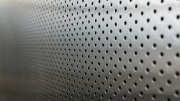 3d Holes On Metal Surface Hd Wallpaper | Wallpaper List 483