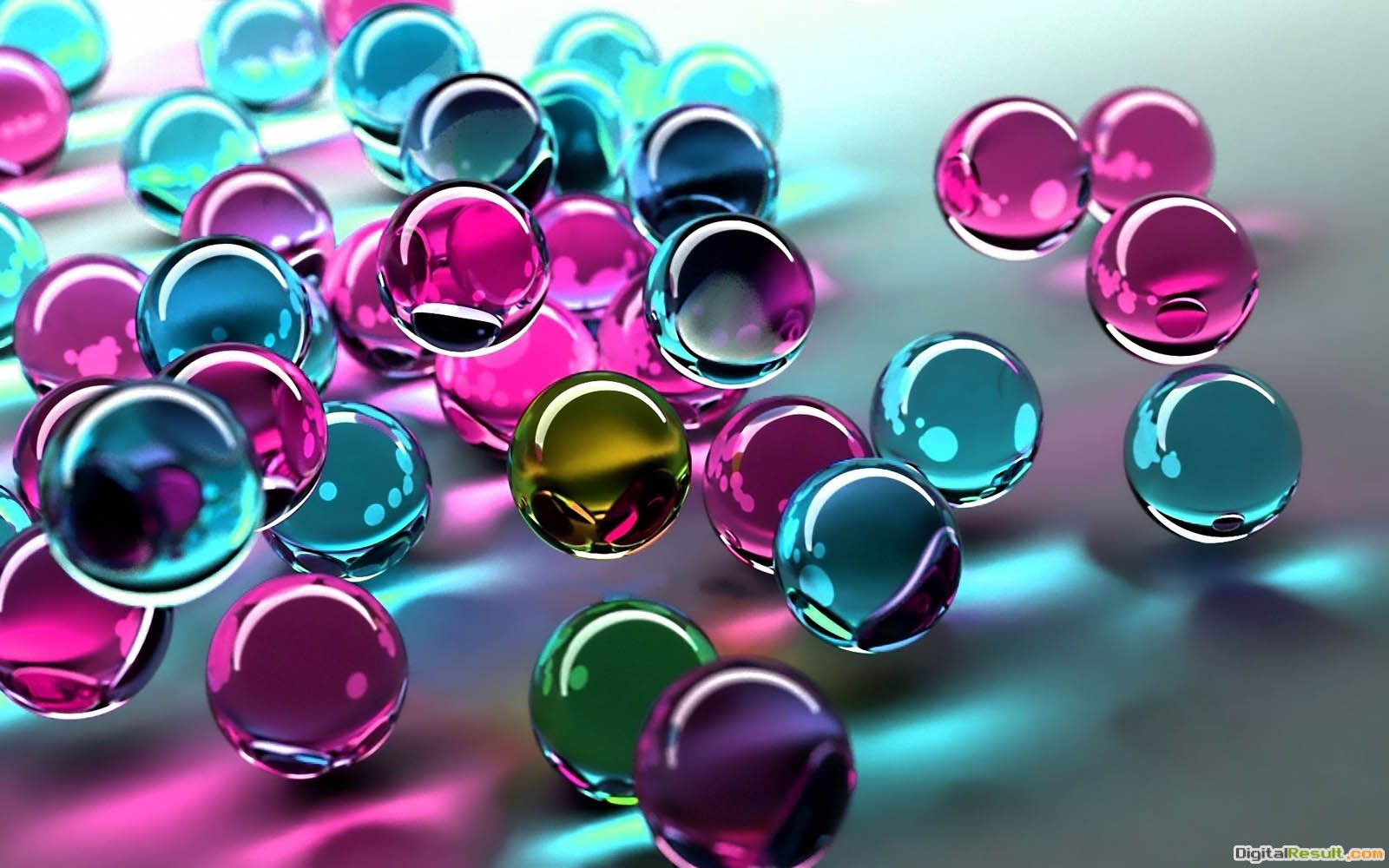 wallpaper: Glass Balls Wallpapers 217
