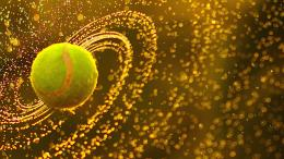 tennis ball is a ball designed for the sport of tennis approximately 755
