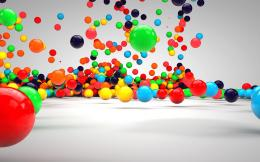 HomeHD Wallpapers3D3D Colorful Balls HD Wallpapers 193