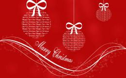 Free WallpapersChristmas Greeting three balls wallpaper 1158