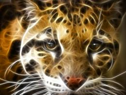 Tiger fractal white tiger – Tiger Wallpaper – Desktop Wallpaper 1923