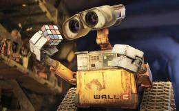 WALL E & Rubiks Cube Wallpapers | HD Wallpapers 1873