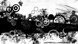 Black and white shapes wallpaperDigital Art wallpapers#53040 899