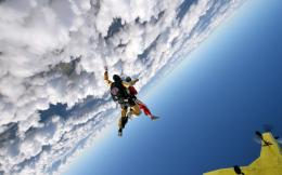 Amazing skydiving wallpaper 1129
