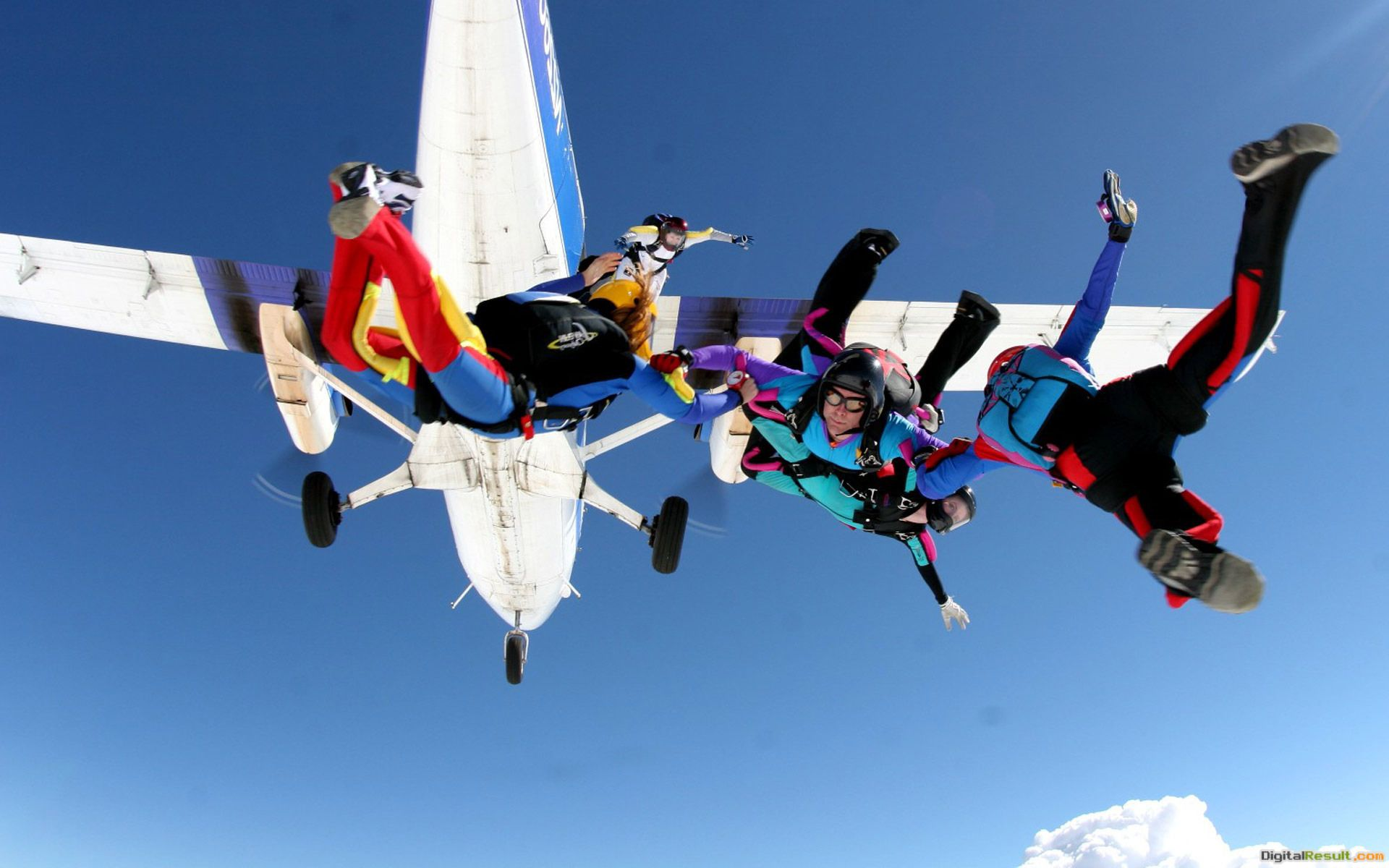 Skydivers Sport Wallpaper HD 1920x1200 #1693 288